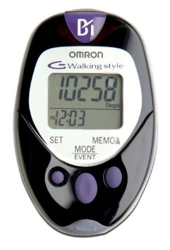 Omron Pocket Pedometer with Health Management Software