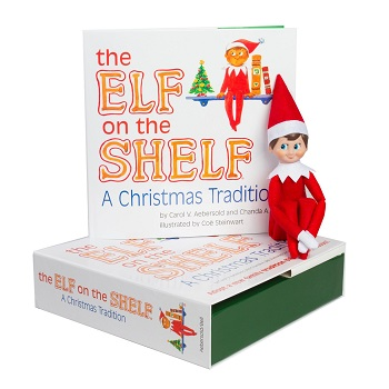 The Elf on the Shelf a Christmas Tradition with Blue Eyeed North Pole