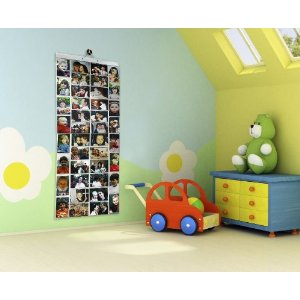 Thingking Gifts Picture Pockets Photo Hanging Display