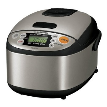 Zojirushi NS-LAC05 Micom 3-Cup Rice Cooker and Warmer Kitchen Gifts